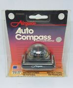 Airguide Auto Dashboard Compass R-2 Low Profile Vintage Made In Usa 1699