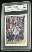 1992 Topps Gold 362 Shaquille Oand039neal Rookie Gma 10 Gem Mint