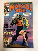 Marvel Age 1991 98   1st Cover Appearance And Preview Toxic Avenger   Movie