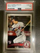 2011 Topps Update Us175 Mike Trout Rc Psa 7