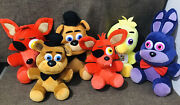 21 Five Night At Freddyand039s Collectible Characters Toy Lot Htf