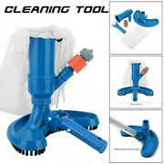 Swimming Spa Pool Pond Suction Vacuum Cleaner Tool Cleaning Brush Accessories Us