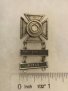 Authentic Us Army Usmc Rifle Small Bore Rifle Sharpshooter Qualification Badge