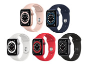 Apple Watch Series 6 40mm Gps + Cellular Aluminum/stainless Steel - All Colors