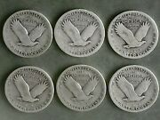 Standing Liberty Quarter Set Contains One Coin For These Yrs.19252627282930