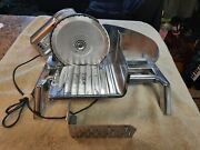 Vintage Rival Stainless Steel Electric Food Slicer Barely Used Very Nice