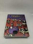 Bepuzzled Impossibles Cow Country 750 Jigsaw Puzzle Brand New Rare