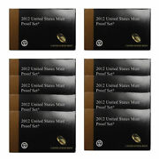 2012 Proof Set 10 Pack Cn-clad Kennedy, State Quarters - Ogp 140 Coins
