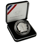 2011 -p Commemorative Us Army 90 Proof Silver Dollar In Ogp
