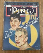 The Ring Magazine August 1948 Zale Vs Graziano