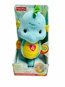 Fisher-price Soothe And Glow Seahorse, Blue. New