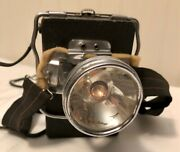 Vintage Winchester Headlamp Flashlight 1930andrsquos Miners Head Lamp Battery Box Works