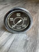 Original Stewart Warner Water Temp Instrument Gauge Diamond T Dash Hotrod Scta