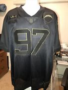 Nwt Nike La Chargers Joey Bosa Salute To Service Jersey- Black Out Size Medium