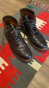 Alden Wingtip Boots / Shell Cordovan Color 8 / Lightly Used