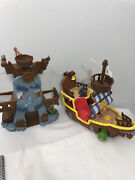 Disney Jake And The Neverland Pirates Ship And Hooks Adventure Playset