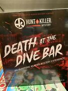 Hunt A Killer Death At The Dive Bar Immersive Murder Mystery Game - New 2020