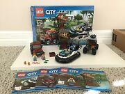 Lego City Hovercraft Arrest 60071 With Manuals