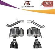 14478 Corsa 304 Ss Axle-back Exhaust System Quad Rear For Cadillac Ats 16-19