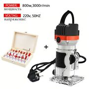 800w 30000rpm Wood Router Tool Combo Kit Electric Woodworking Machines