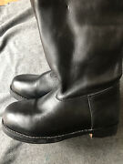 Ww2 German Marching Boots Jack Boot Size 91/2 Uk. Brand New Unused.
