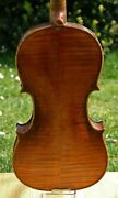 Listen To The Video 19th Century Old Antique German Conservatory Violin4