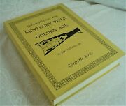 Thoughts On The Kentucky Rifle In Its Golden Age, H/c Bk By Joe Kindig 1st Ed