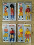 Figures Toy Co Mego Teen Titans Series 1 8 Action Figure Set Of 4 💥new💥