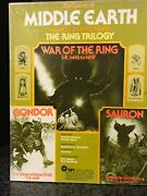Spi Games Of Middle Earth Boardgames Lotr ✰ War Of The Ring ✰ Gondor And Sauron