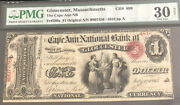 1865-1-the Cape Ann Nb Of Gloucester Ma. Pmg30/net. A Nice Note For Collectors