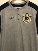 New L Nike New York Yankees Ny Cooperstown Collection Dri-fit Shirt Nc88-019n