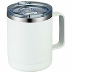 12oz Coffee Mug With Handle Stainless Steel Insulated Travel Tumbler Cup Camping