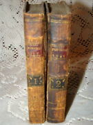 1792 Paradise Lost A Poem In Twelve Books By John Milton Vol.1 And Vol.2 Leather