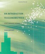 An Introduction To Econometrics A Self-contained Approach By Frank Westhoff