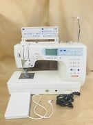 Janome Mc6600p Memory Craftcomputerized Sewing And Quilting Machine