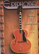 Epiphone House Of Stathopoulo By Jim Fisch And L B Fred Mint Condition
