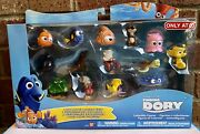 Disney Finding Dory 14 Character Figure Collection Plant Hank Tad Sandy New
