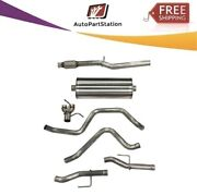 21034 Corsa 304 Ss Cat-back Exhaust System With Split Rear Exit For Chevy/gmc