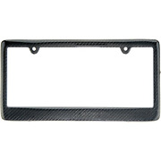 Blvd-lpf Obey Your Luxury Real 100 Carbon Fiber License Plate Frame Tag Cover