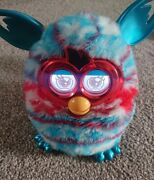 Hasbro Furby Boom Festive Sweater Edition 2012 Christmas Interactive Toy Tested
