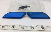 Lightech Cobalt Blue Mirror Block Off Plates Ducati 959 1299 Panigale 2015-2019