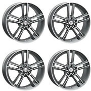 4 Autec Rias Wheels 85x20 5x1143 Tm For Suzuki Grand Vitara Kizashi Sx4 Vitara