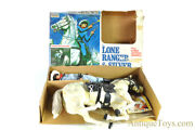Gabriel Lone Ranger And Silver Action Figures In Box