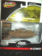 2005 Corgi Wheelz Fighting Machines Churchill North Irish Horse Diecast Vgc