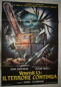 Friday The 13th Part 5 A New Beginning 1985 Original Horror Poster