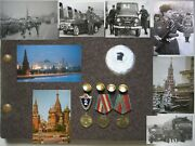 Soviet Soldier's Military Photo Album. Moscow1970s Red Army. Cold War .179 Foto