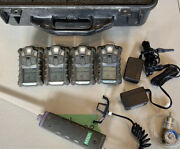 Msa Altair 4x Gas Monitor Detector With Pump Probe Lot Sale 4 Units Calibrated