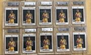 Kevin Durant 10 Card Lot 2 Rookie Cards 7-bgs 9 And 3-bgs 8.5 All With Sub-grade
