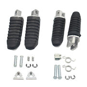 Aluminum Motorcycle Foot Pegs Foot Rest Pedals For Suzuki Gsx1300r Parts