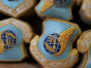 Military Insignia Patch Pacific Air Force Command Box Of 200 Nos Dated 1979